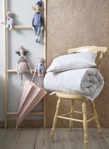 Hibboux 160x220 Dream in the Rain Nevresim Takımı -Whisper White Renkli